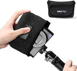 Piel de Microfibra Protector de Cuerpo para c/ámara antiara/ñazos para Sony RX100 VA V Vi III se Ajusta a RX100M5A RX100M5 RX100M4 RX100M3 Solamente Protector de Piel Antideslizante