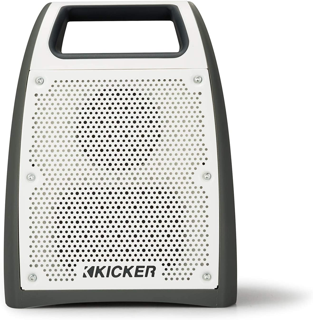 Kicker Bullfrog BF200 Bluetooth Portable Outdoor Speaker | 360° Sound Field | Waterproof Dustproof Casing IP66 Rating | Powerful 20 Watt AMP | 100 FT Wireless Range