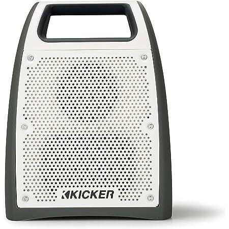 Kicker Bullfrog BF200 Bluetooth Portable Outdoor Speaker   360° Sound Field   Waterproof Dustproof Casing IP66 Rating   Powerful 20 Watt AMP   100 FT Wireless Range