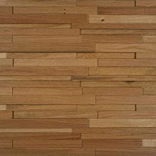 Nuvelle Deco Strips Paneling Straw 3/8 in. x 7-3/4 in. Wide x 47-1/4 in. Length Hardwood Wall Strips (10.334 sq. ft) NV1DS