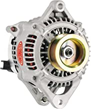 Powermaster 43311 Alternator; Denso w/Internal Fans; 170 Amp; Externally Regulated; OE Only; 100 Idle/135 Cruise/170 Top End; Natural;