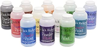 Jack Richeson 101592 Tempera Powder Paint, Set of 12