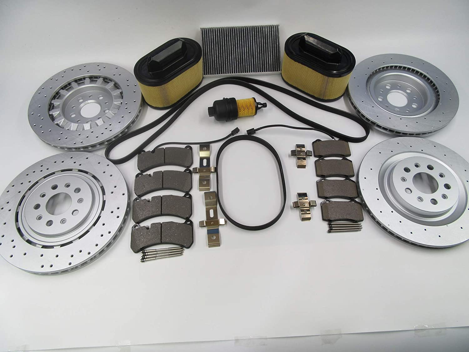 TopEuro replacement Max 66% OFF brake pads rotors Direct store filters belts service kit