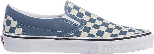 (Checkerboard) Blue Mirage/True White