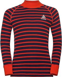 Odlo Warm Kids Ensemble de T-shirt /à manches longues et collants pour enfants