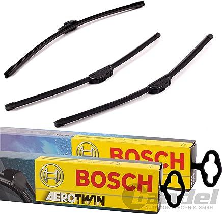 Bosch Limpiaparabrisas Frontal.traseros y borrador – Aerotwin A979S longitudes: 600/475 mm