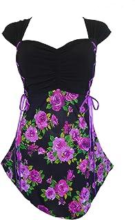Dare to Wear Victorian Gothic Boho Women's Plus Size Cinch Corset Top