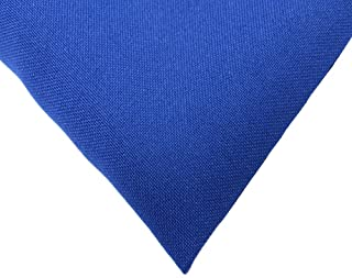 Textured Polyester Poplin Fabric, 58 Inches Wide, Over 100 Yards in Stock - 100% Textured Polyester - Royal Blue