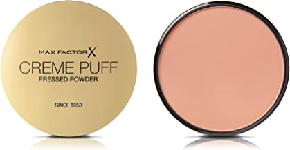 Max Factor Creme Puff, Pressed Compact Powder, 055 Candle Glow, 21 g