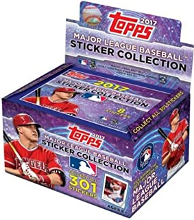 2017 topps mlb stickers