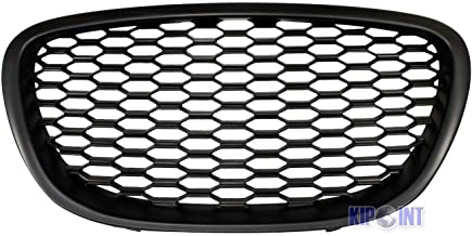 Sport Mesh Honeycomb Grill Grille, Badgeless Debadged, ABS Plastic, For Seat Leon MK2 1P Altea + Altea XL 5P Toledo MK3 5P