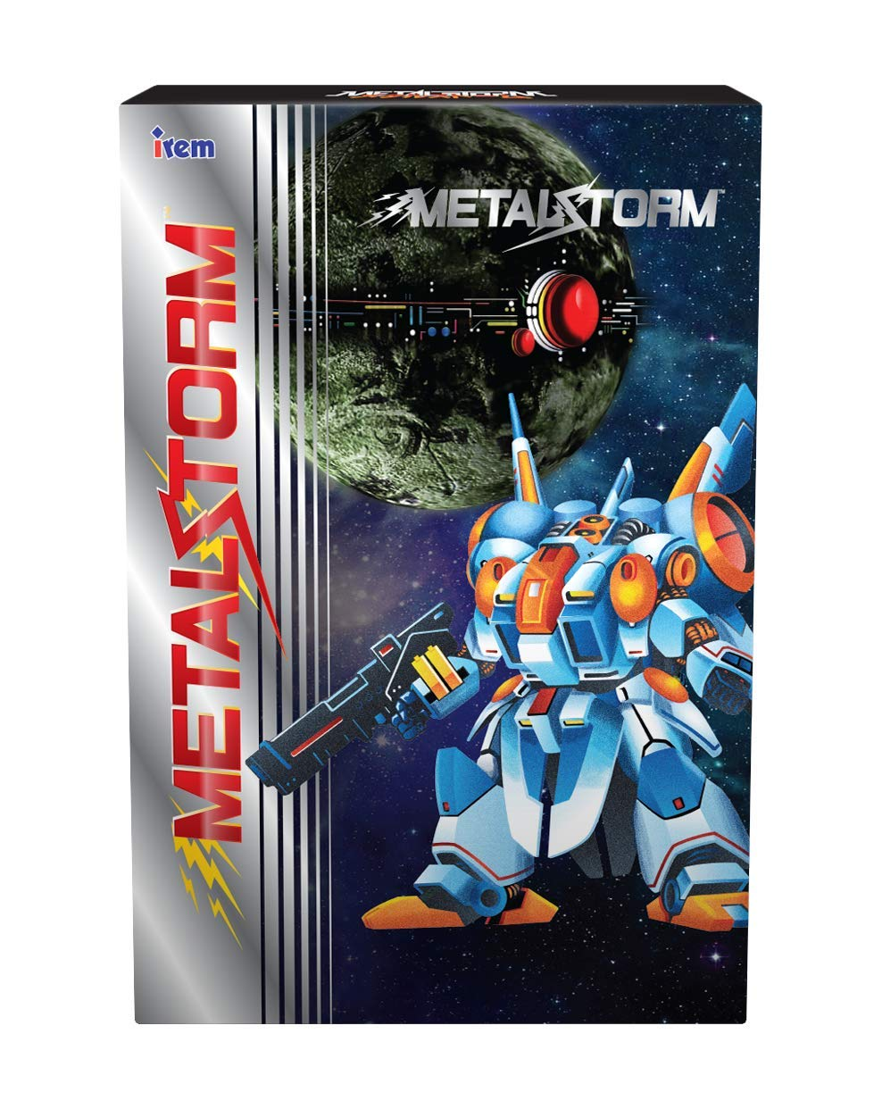 Metal Storm Standard Edition for NES Electroni High In stock material 8-Bit Nintendo