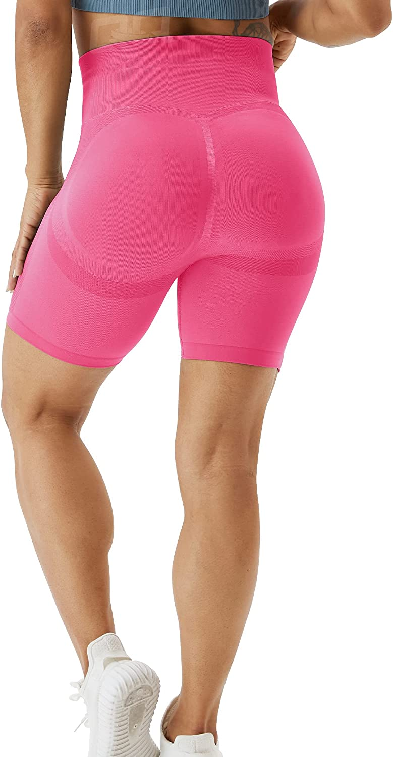 QOQ Womens Workout Biker Shorts Cont Seamless 2021new shipping free shipping Waisted In a popularity Tummy High