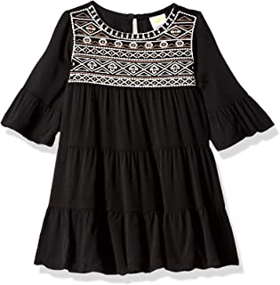 Baby Girls Long Sleeve Casual Woven Dress
