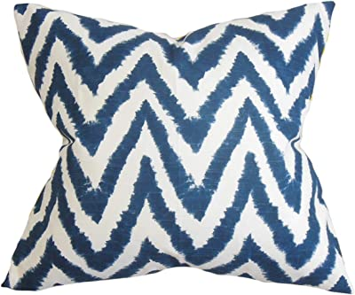 The Pillow Collection Daisi Ikat Pillow Candy Pink