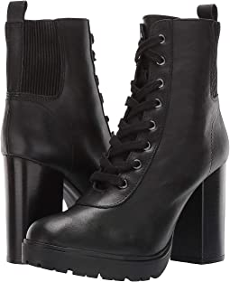 343df1a18b9 Black Leather. 147. Steve Madden. Latch Combat Boot