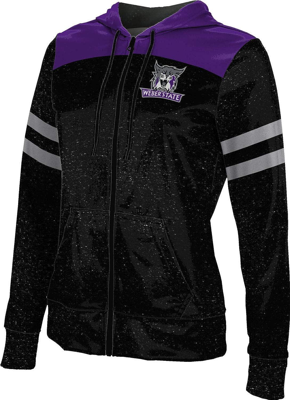Weber State University Girls' Zipper Hoodie, School Spirit Sweatshirt (Gameday)