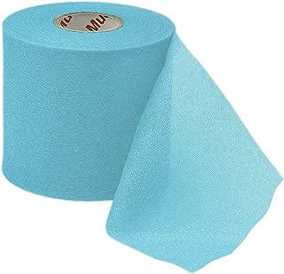 Mueller M-Wrap Pre wrap for Athletic Tape (Big Aqua,  4 Rolls)