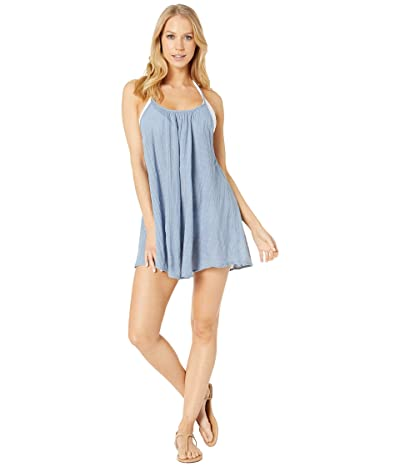 Rip Curl Surf Essentials Cover Up (Blue) Women