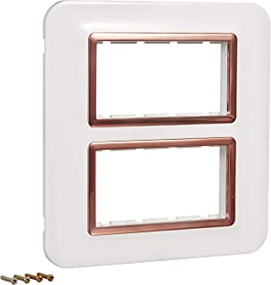 Anchor By Panasonic 66888WHC Roma Urban Modular Polycarbonate 8M Curve (Copper White, Pack of 5)