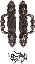 Cikuso 2 stuks antieke sieraden lade trekker knoppen handvat brons