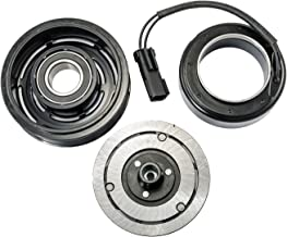 Hex Autoparts A/C AC Compressor Clutch Repair Kit - Clutch Hub Pulley Coil Bearing for Jeep Liberty Dodge Nitro 3.7L 2006 2007 2008