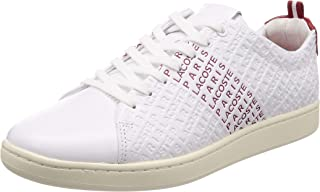 Lacoste Men's Carnaby Evo Embossed LTH Sneakers