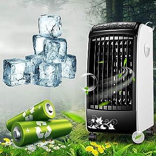 Air Cooler Unitz Air Cooler Ventilador, aire acondicionado, enfriador y humidificador Purificador de enfriamiento por evaporación móvil con control remoto 0-7.5 horas Tiempo para la oficina en casa