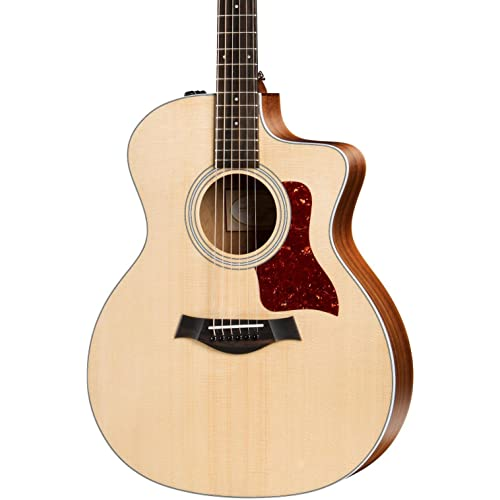 Taylor 214ce 200 Series Acoustic Guitar, Rosewood, Grand Auditorium, Cutaway, ES-