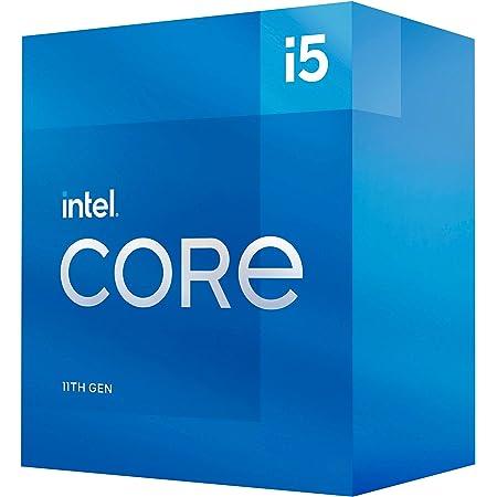 Intel(インテル) Core i5-11500 デスクトッププロセッサー 6コア 最大4.6GHz LGA1200 (インテル500シリーズ&セレクト400シリーズチップセット) 65W