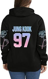 babyHealthy Kpop BTS Hoodie Jin Jimin Suga Jung Kook V Sweater Love Yourself Tear Pullover