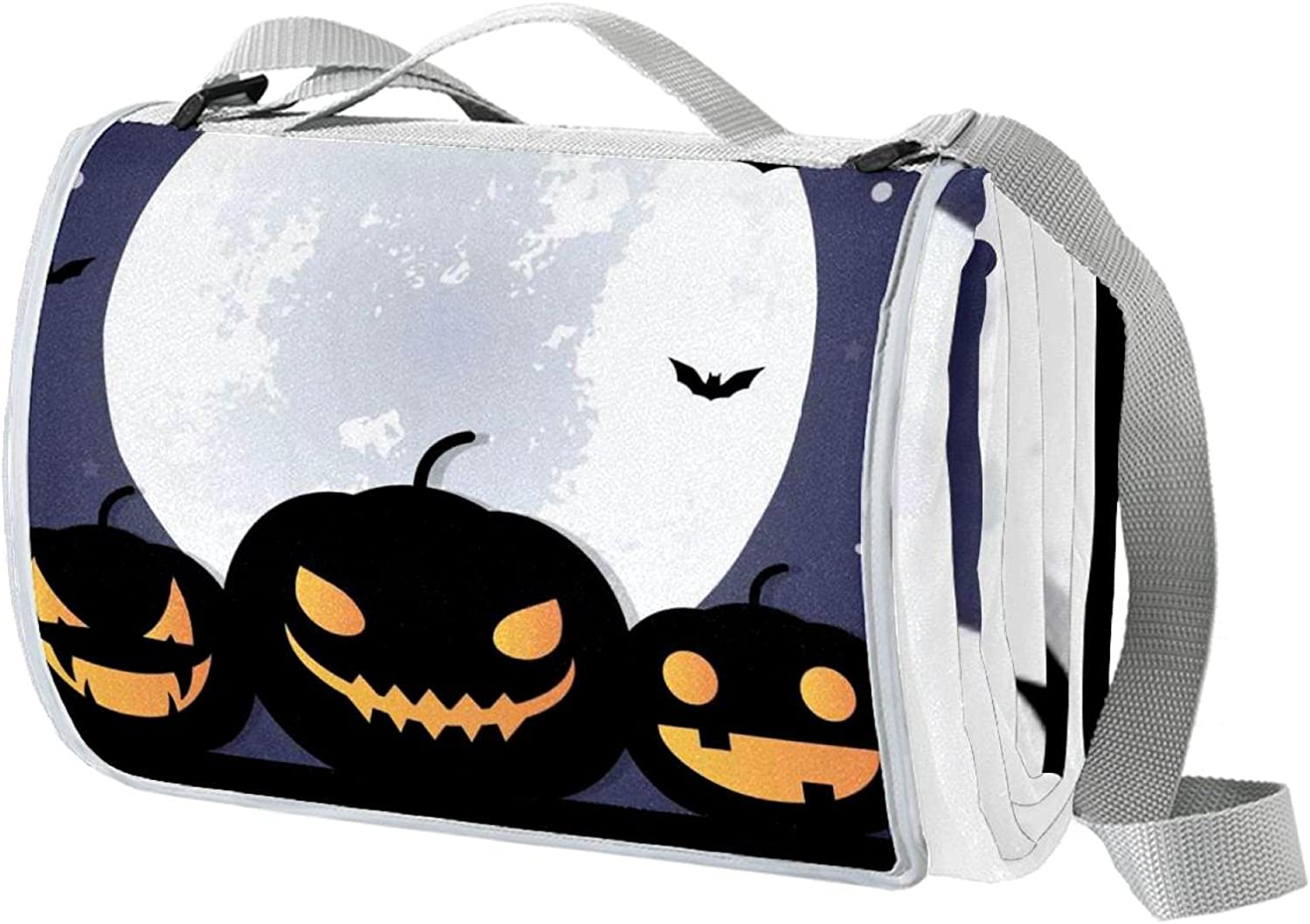 Portable Picnic Outdoor Blanket New Topics on TV Shipping Free for Halloween Water-Resistant
