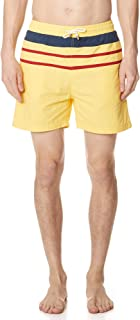 Men's The Classic Yellow Trunks with Stripes