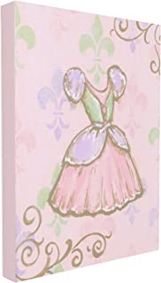The Kids Room by Stupell Princess Dress with Fleur De Lis Wall Plaque, 30 x 40