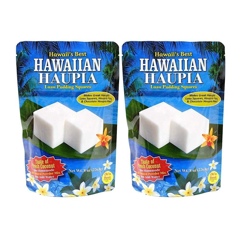 Hawaii's Best Hawaiian Haupia 2 Pack - Hawaii's Best Luau Puddin