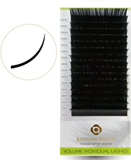Beyelian Beauty 0.07mm Volume Lashes Mink Eyelash Extensions Individual Semi Permanent Lash Building (C 0.07mm 13mm)