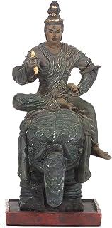 【東寺監修 公認】帝釈天(たいしゃくてん) ミニチュア仏像【空海 立体曼荼羅21体 真言宗開宗1200年記念】