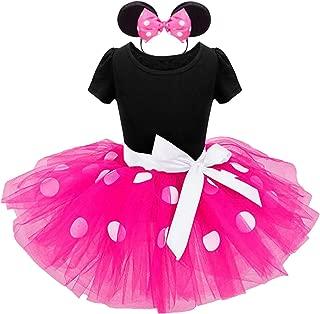 Toddler Girls Tutu Princess Dress+Headband,Costume Polka DotParty Wedding Pageant Ballet Lace Dress
