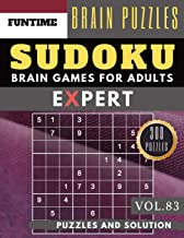 SUDOKU Expert: 300 SUDOKU extremely hard books for adults with answers brain games for adults Activities Book also sudoku for seniors  (hard sudoku puzzle books Vol.83) (expert SUDOKU puzzle books)