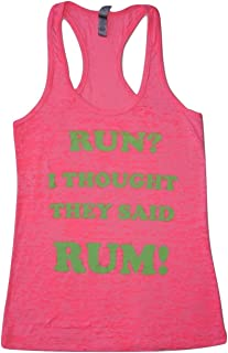 run i thought you said rum tank