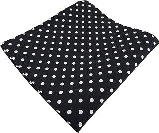 diseñador Pañuelo de seda en lunares - pañuelo 100% de seda