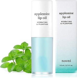 NOONI Applemint Hydrating Lip Oil | Korean Lip Oil To Soothe Dry Lips | Korean Skincare, Vegan, Cruelty-fre...