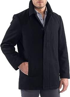 mens short wool trench coat
