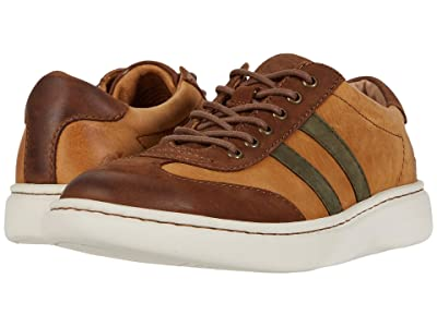 Born Fade Lace-Up (Brown/Tan/Green Nubuck Combo) Men