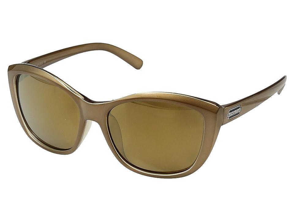 SunCloud Polarized Optics Skyline (Bronze/Polarized Sienna Mirror Polycarbonate Lens) Sport Sunglasses