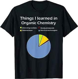 Funny Organic Chemistry Pun T Shirt for Women Men Chemist