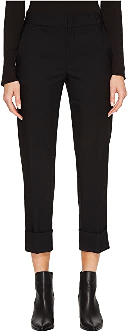 Cuffed Coin Pocket Trousers