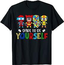 autism awareness superhero shirts