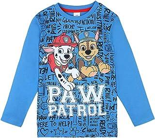 5 Jahre Paw Patrol Dogs Langarmshirt Camouflage Pawsome Grau 110