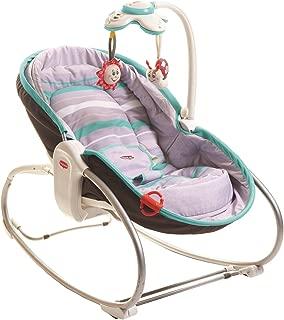日本育児 Tiny Love ベビーラック 3in1 おひるねロッキング・ナッパー グレーターコイズ 新生児~18kg対象 1台3役のベビーシート
